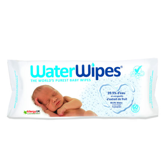 Waterwipes 60lingettes