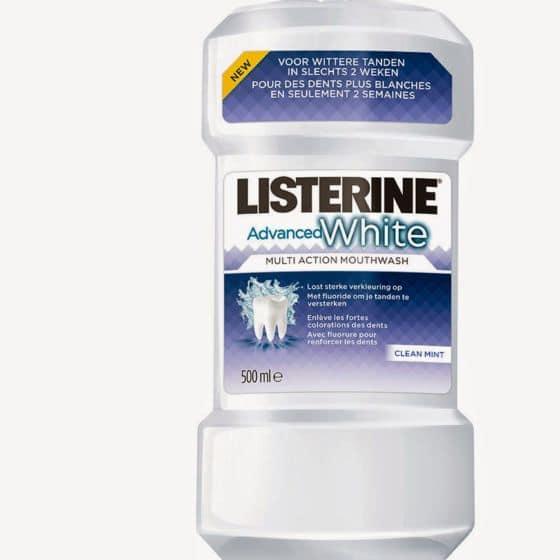 Listerine Advanced White 1